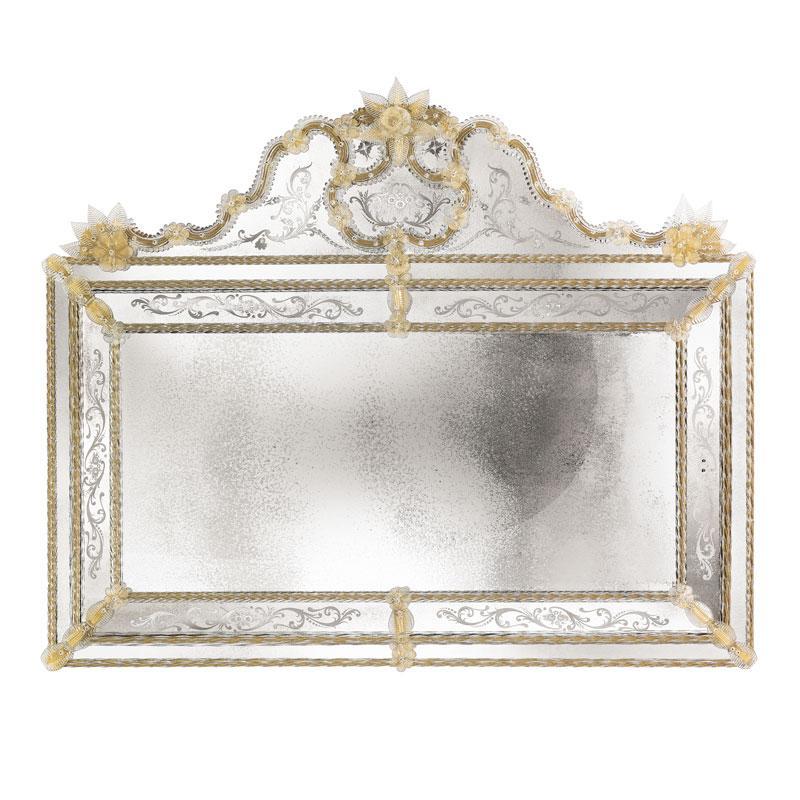 Rosaura Venetian Mirror Luxury Mirror Classic Mirror Venetia Collection Arte Veneziana