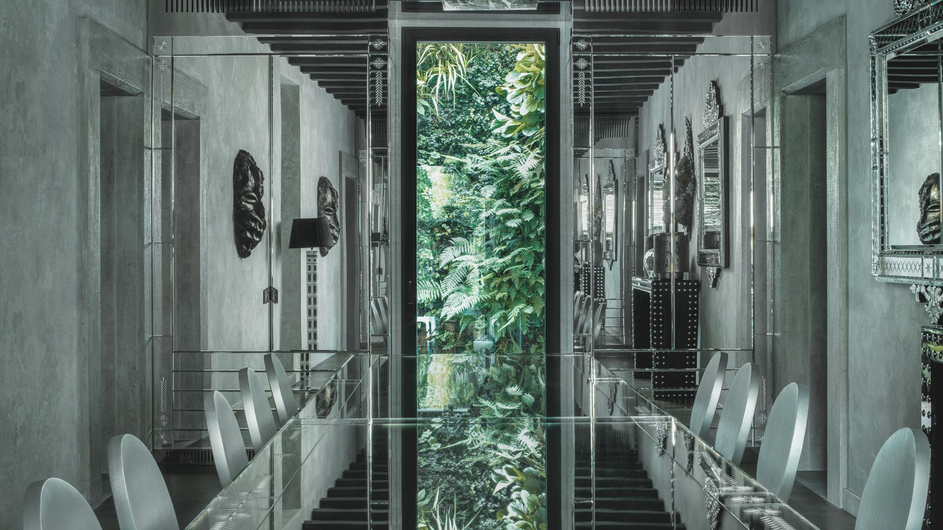 An elegant interior. Private home